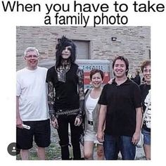 I swear this is so true. I'm Andy in family pictures<<< WWHY IS ANDY SO MUCH TALLER THAN EVERYONE?!?!