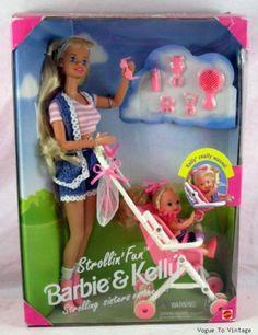 Strollin' Fun Barbie & Kelly