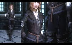 Witcher 3 Yennefer and Triss armors