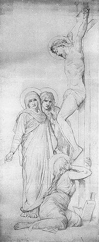 William Bouguereau sketch.