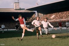 West Ham 3 Hereford Utd 1 in Feb 1972 at Upton Park. A shot from Trevor Brooking goes just wide in the FA Cup Round Replay. Trevor Brooking, West Ham United Fc, 1966 World Cup, Fa Cup Final, Hereford, The Four, Newcastle, Premier League, Soccer