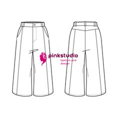 Basic culotte pants