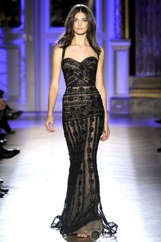Zuhair Murad S/S 2012 Haute Couture like the flow of fabric