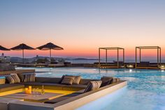 With a gorgeous sunset vista, Villa Mavi's spacious estate offers a wonderful retreat for up to ten guests.  The multiple lounge and dining outdoor spaces, TV room, and open-plan living  make for the perfect setting in your memorable stay in Mykonos.  Only a 6-minute drive to Mykonos Town, this gem is conveniently located. • 5 en-suite bedrooms • sleeps up to 10 guests •… Mykonos Town, Mykonos Greece, Mykonos Villas, Dream Photography, Luxury Villa Rentals, New Property, Luxury Holidays, Maine House