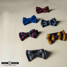 A bow tie can either be the perfect complement to an outfit or a distraction, so choose wisely. If you're already rocking a loud pattern, like these, opt for more neutral shirt.