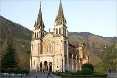 Covadonga Basilica, Asturias Spain