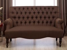 2-Sitzer-Sofa Stoff Barock Manifia - Braun günstig kaufen | Möbel Online-Shop Kauf-Unique.de