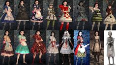 american mcgee's alice dresses - Google Search. Halloween