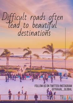 """""""Difficult Roads Often Lead To Beautiful Destinations."""" #FollowUs and #StayTuned for updates. #travel #traaal #journey #vacations #startups #business #onlinetravelagency #nature #activities #travellers #tours #tourists #explore #discover #find #search #adventures #memories #ota #photography #trips #luxury #moments #ilovetravelling #comingsoon"""