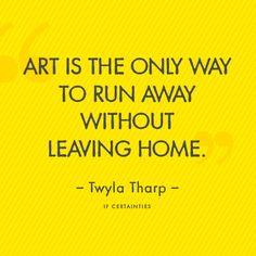 IF Certainties :: Twyla Tharp