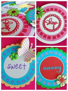 Gift Tags/Scrapbook Embellishments