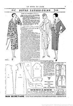 La Mode du jour. 1925/10/01