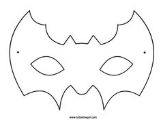 ... Halloween Templates, Halloween Crafts For Kids, Halloween Bats, Craft Projects For Kids, Fall Crafts, Carnival Crafts, Carnival Decorations, Carnival Masks, Imprimibles Halloween