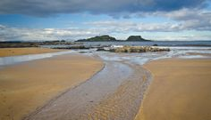 Yellowcraigs beach. Walk from the car park to north Berwick. Eat lobster and chips. Roll back. Total time 3-4 hrs depending on how slow you walk/eat