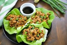 Best Ever Chicken Lettuce Wraps Recipe