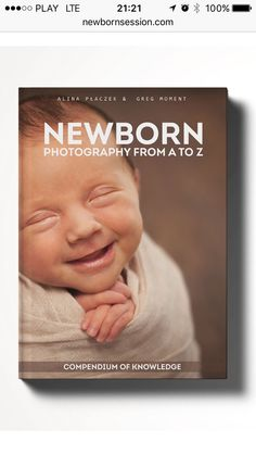 "Book for newborn photographers ""Newborn photography from A to Z"" soon available! Authors: Alina Placzek (www.wpieluszce.pl) & Greg Moment (www.moment.com.pl)"