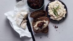 Vegaaninen ricotta - Kotiliesi.fi Delicious Vegan Recipes, Ricotta, Tofu, Camembert Cheese, Easy Meals, Beef, Vegan Food, Yummy Vegan Recipes, Meat