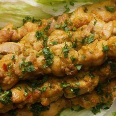 Chicken Satay Skewers by Tasty