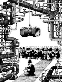 Quino - Gente en su sitio (People in their Place, Comic Frame, Ghost In The Machine, Mad Magazine, Humor Grafico, Funny Cartoons, Caricature, Comic Strips, Comic Art, Illusions