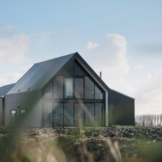 Introductie - De stalen woning Style At Home, Shed Homes, Steel House, Modern House Plans, Future House, Modern Farmhouse, Tiny House, Barn, House Design