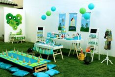 George Pig Birthday Party Ideas | Photo 1 of 30 | Catch My Party