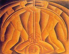 Atirador de Arco 1925 | Vicente do Rego Monteiro óleo sobre tela, c.s.d. 108.00 x 137.00 cm