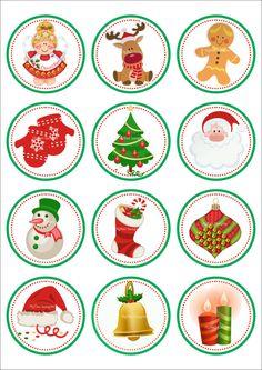 Christmas Stickers Printable, Christmas Graphics, Holiday Gift Tags, Christmas Cards To Make, Christmas Gift Tags, Christmas Printables, Kids Christmas, Christmas Tree Ornaments, Christmas Crafts