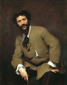 1879 Carolus Duran by John Singer Sargent.