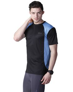 Black Blue Sport T-shirt – Atheno India