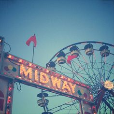 Midway by Olivia Joy StClaire Aesthetic Themes, Pink Aesthetic, Aesthetic Pictures, Olivia And Joy, Summer Fair, Amusement Park Rides, Halloween Carnival, Fun Fair, Summer Memories