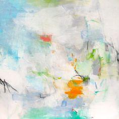 Charlotte Foust, 'Magnolia', Acrylic on Canvas, 36x36 - Anne Irwin Fine Art