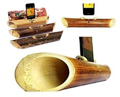 5$ OFF Acoustic bamboo speaker for iPhone by BambooStyle on Etsy