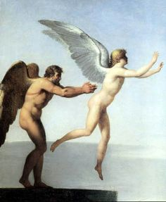 Charles-Paul Landon Daedalus and Icarus, olieverf op doek, 54 × cm, Louvre, Parijs. Daedalus And Icarus, Städel Museum, Icarus Fell, Closer To The Sun, Caravaggio, Photoshop, Ancient Greece, Greek Mythology, Books