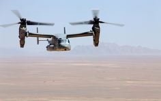 MV-22 Osprey in Afghanistan  by United States Marine Corps Official Page, via Flickr