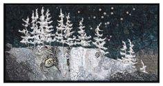 Art Quilts Landscapes | art quilts, landscapes / Winter