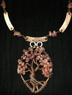 Tormalina rosa tree of life