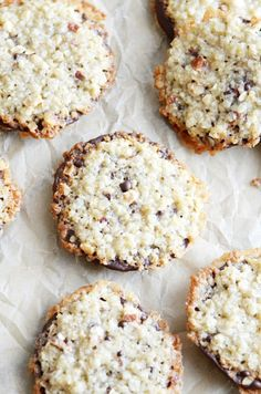 Florentine Cookies on Pinterest | Lace Cookies, Cookies and Cookie ...