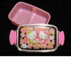 Sanrio Hello Kitty Bento Lunch Box Food Container school kitchen lunchbox ladies | eBay