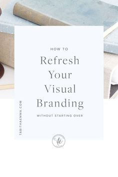 How to Refresh your Visual Branding without Starting Over Personal Branding, Marca Personal, Social Media Branding, Visual Identity, Identity Branding, Logo Design, Brand Identity Design, Brand Design, Design Design