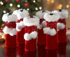 Santa Bottle Gift Bags – Half-price Offer | The Original Gift Company