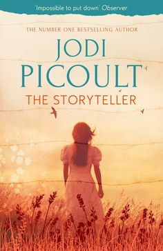 The Storyteller - Jodi Picoult, favourite JP book that I've read to date...couldn't put this one down, had me in tears & kept me guessing right until the end!
