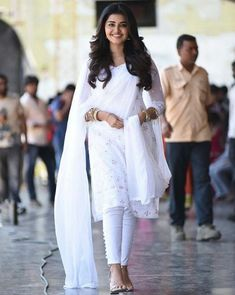 Anupama parameswaran largest image gallery of 200 cutest hot sexy unseen latest collection in which she is with her body show navel and big. Beautiful Suit, Beautiful Girl Photo, Indian Attire, Indian Wear, Indian Dresses, Indian Outfits, Indian Fashion Salwar, Stylish Dresses For Girls, Indian Designer Suits