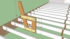 outdoor deck plans | Deck Bench Plans Free | HowToSpecialist - How to Build, Step by Step ...