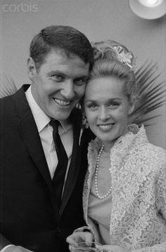 Tippi Hedren & Noel Marshall,Wedding Day-1964