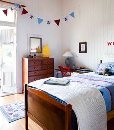 I& always fantasised about one day owning a Queenslander. Those breezy wide verandah& high ceilings and touches of period detail that g. Kids Bedroom, Bedroom Decor, Design Bedroom, Kids Rooms, Bedroom Ideas, Master Bedroom, Grafton House, Queenslander House, Interior Paint Colors