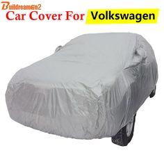 Buildreamen2 Auto Cover Outdoor Anti-UV Sun Rain Snow Scratch Protection Car Cover For Volkswagen VW Routan Golf Touran Scirocco