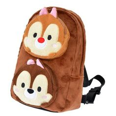 Chip & Dale Tsum Tsum Backpack ~ Disney Store Japan