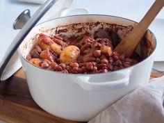 Ateria padassa - Helppo papupata #lihatonlokakuu #lecreuset