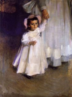 Ernesta by Cecilia Beaux, 1874. Collection of the Metropolitan Museum of Art.