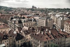 View of the rooftops around the old town square of Prague, Czech Republic. Free stock photo for personal and commercial use. Photos For Sale, Free Stock Photos, Prague Czech Republic, Old Town Square, Paris Skyline, Travel Destinations, Old Things, Rooftops, Free Design
